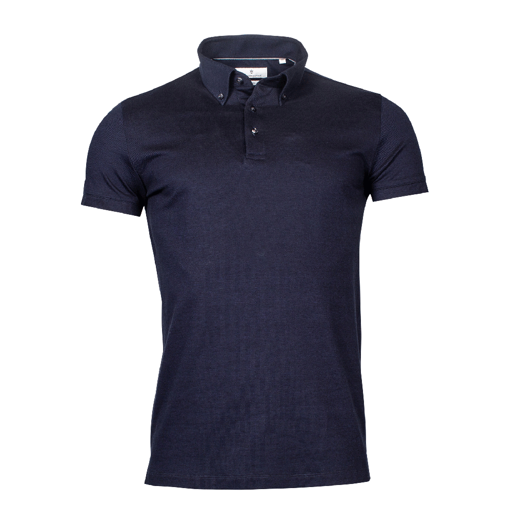 Knitted Cotton Polo
