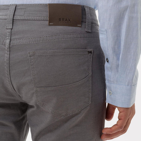Brax Two Tone Five Pocket - Grey
