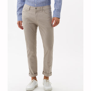 Brax Two Tone Five Pocket - Beige