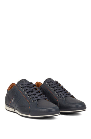 BOSS Low-top Leather Trainers