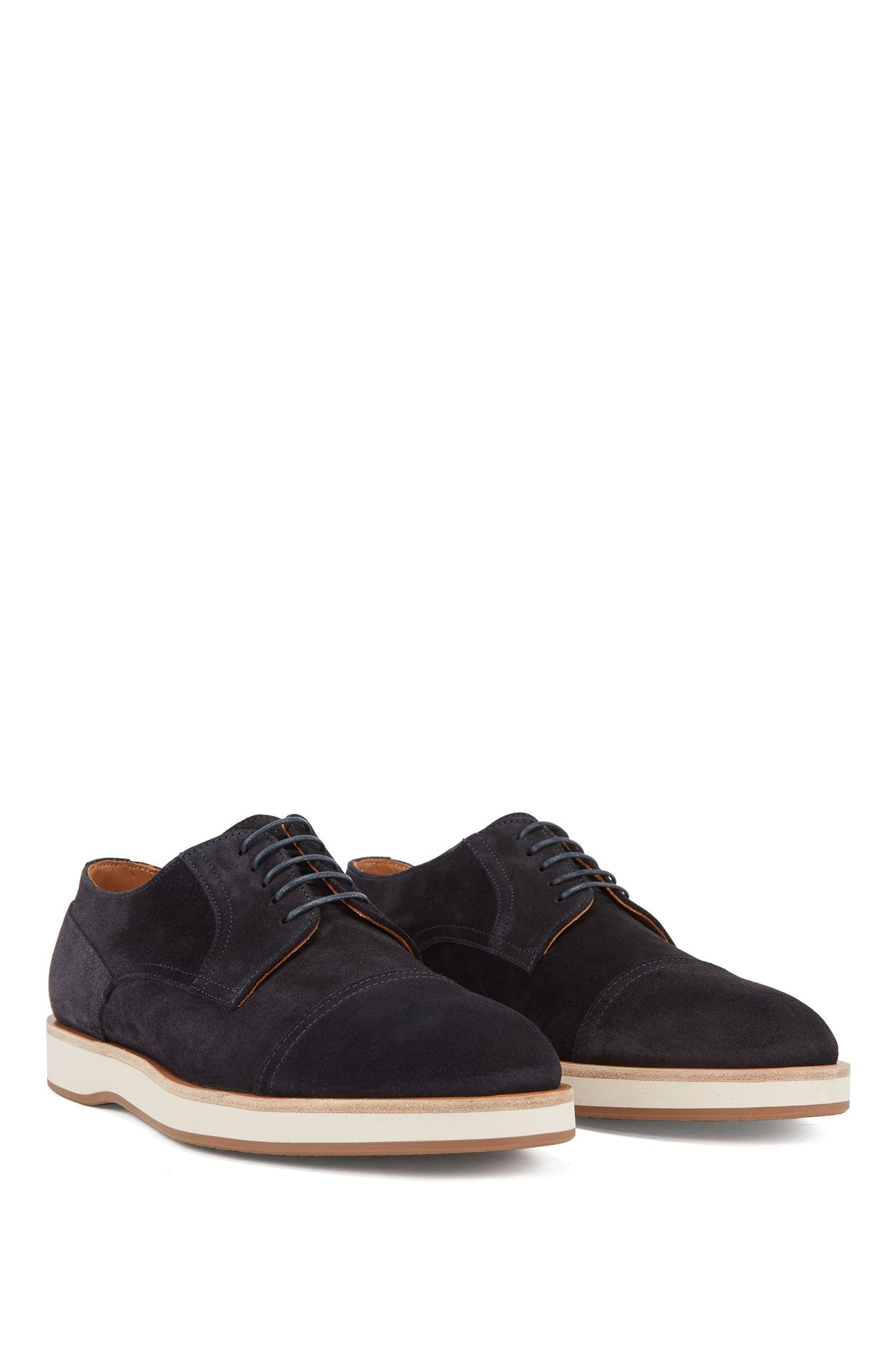 BOSS Suede Derby Shoe