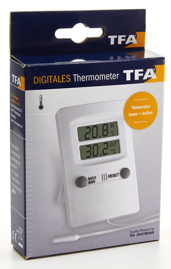 Cabled Digital Max/Min Thermometer