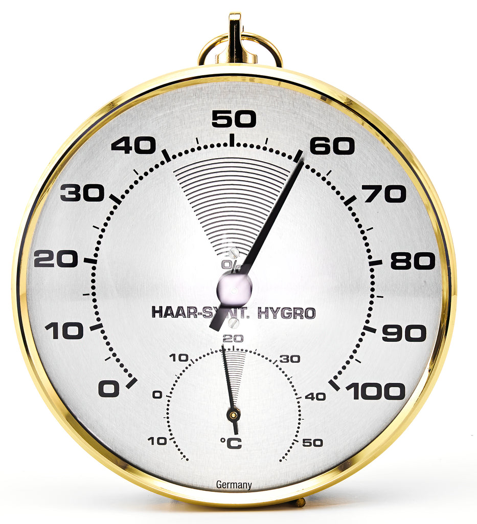 Classic Hygrometer with Thermometer