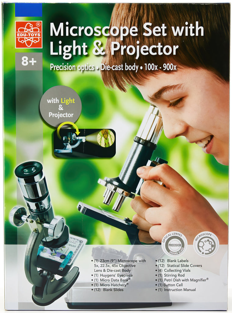 Coffret 900x microscope set