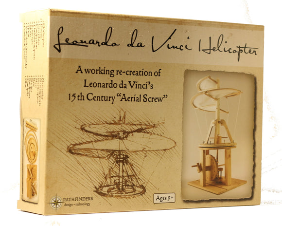 Da Vinci Model Helicopter