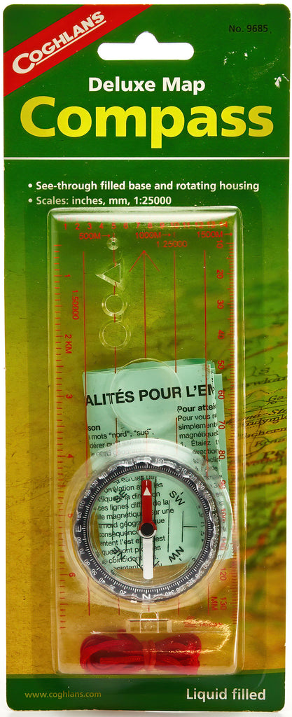 De Luxe Map Compass
