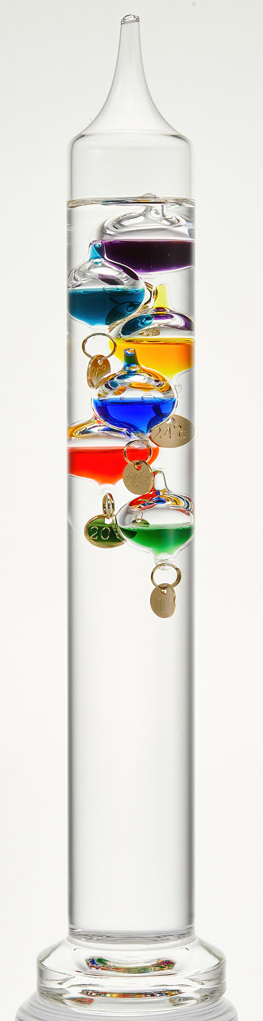 Galileo Thermometer, small