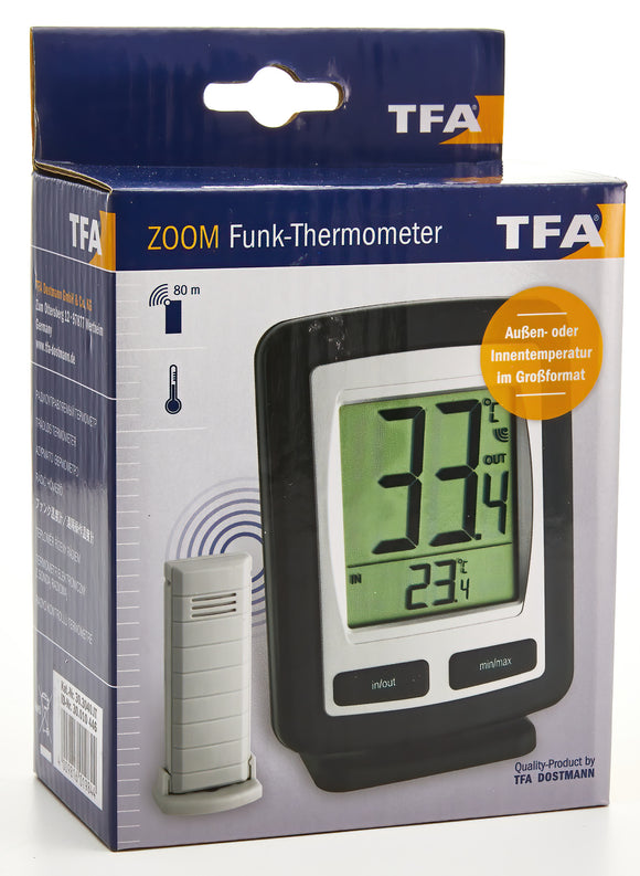 Zoom Digital Thermometer