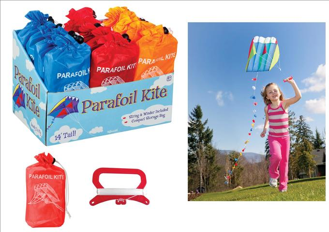 Easy Parafoil Kite for 6+