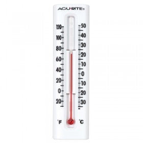 Small Accurite in or out spirit thermometer