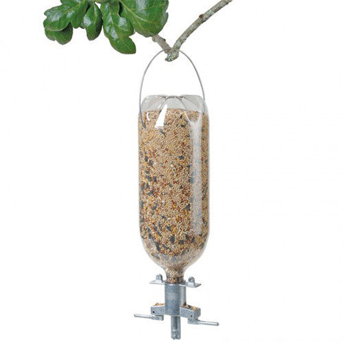 Soda-bottle Bird Feeder