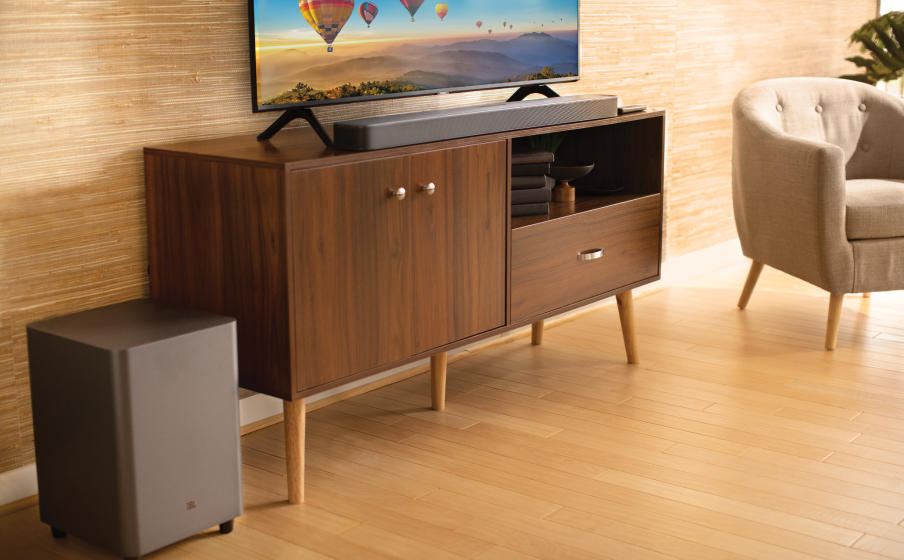 JBL Bar 5.1 Surround | Barre de son 5.1 canaux - Caisson de graves sans fil