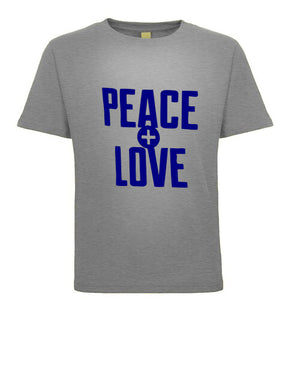 PEACE and LOVE CHILDREN'S TEE SHIRT