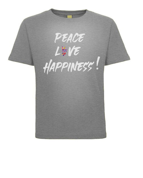 PEACE ,LOVE & HAPPINESS JEANTRIX TEE SHIRT