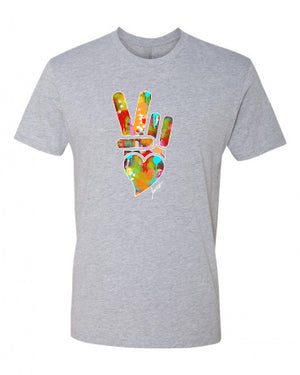 PEACE, LOVE, & HAPPINESS T-ShIRT