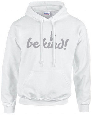 PEACE and LOVE BE KIND COTTON HOODIE
