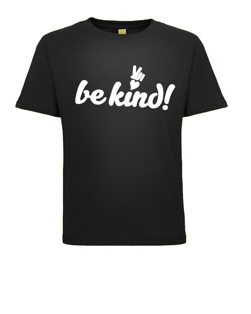 PEACE and LOVE CHILDREN COTTON BE KIND TEE SHIRT