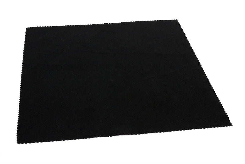 Microfiber Suede TV, Computer, Tablet, Touch Screen Wiper Cloth (200 gsm, 12 in.  x 12 in.)