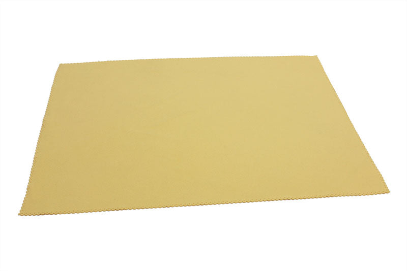 Microfiber Suede TV, Computer, Tablet Screen Wiper Cloth (200 gsm, 12 in. x 16 in.)