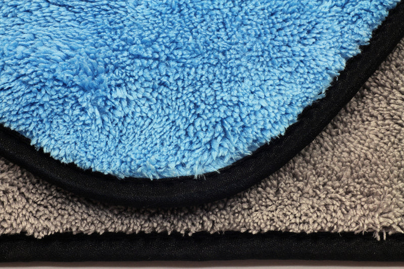 Extra Fluffy Microfiber Rinseless / Waterless Wash Cloth & Polishing Towel  (700 gsm, 16 in. x 16 in.)