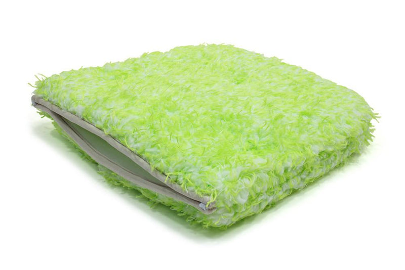 Green Monster Hybrid Car Wash Pad/Mitt (9 in. x 9 in.) 1 pack