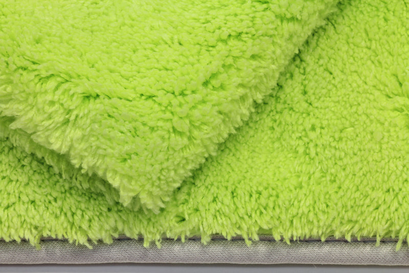 Motherfluffer Mega Plush Automotive Towel (1100 gsm, 22 in. x 22 in.) - Great for Drying, Dusting and Rinseless Wash