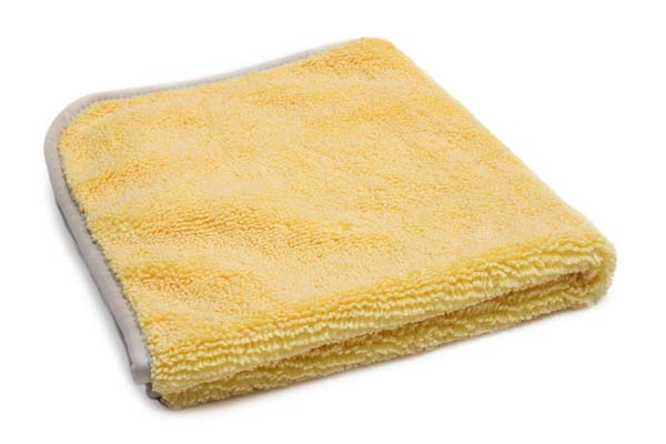 Elite 70/30 Microfiber Detailing Towel with MicroEdge Banding (400 gsm, 16 in. x 16 in.)