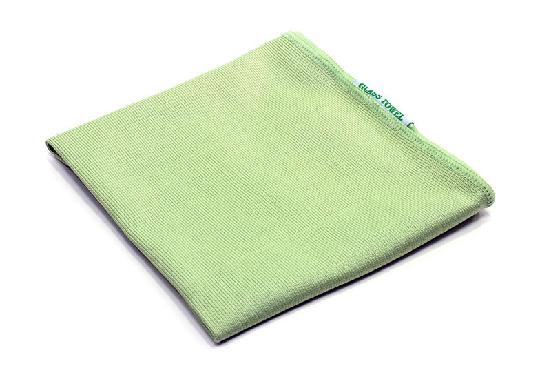 Microfiber Glass, Window and Mirror Towel - No Lint or Streaks (260 gsm, 16 in. x 16 in.)