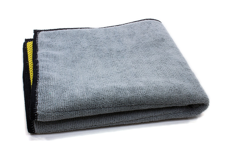 Microfiber Dual Scrubbing and Terry Towel (600 gsm, 16 in. x 16 in.)