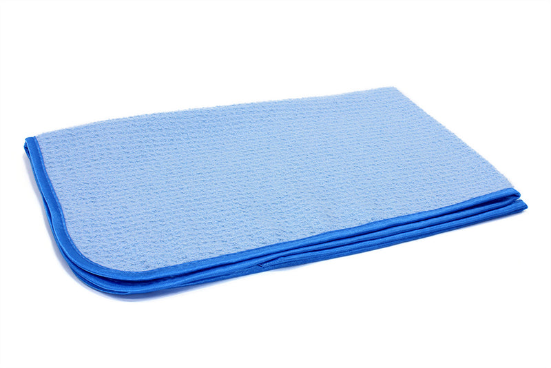 Medium Size Lightweight Waffle-Weave Microfiber Drying Towels (300 gsm, 16 in. x 27 in.)
