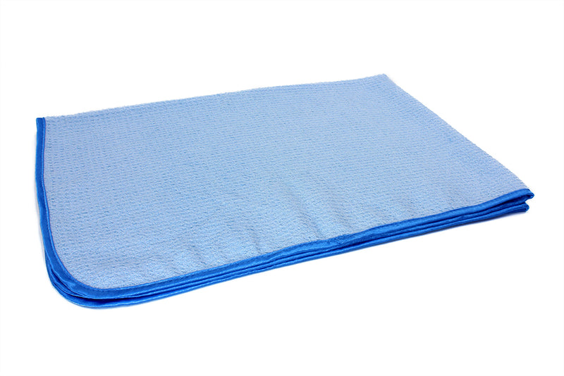 Waffle-Weave Microfiber Drying Towel (300 gsm, 25 in. x 36 in.)