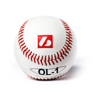 "OL-1 Baseboll Boll High Competition, 9"" (inch), Vit, 2 st"