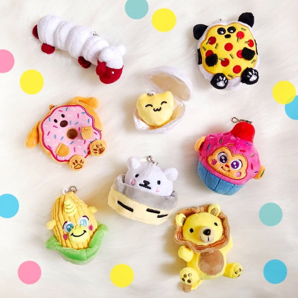 Yummimals Mystery Food Plushies