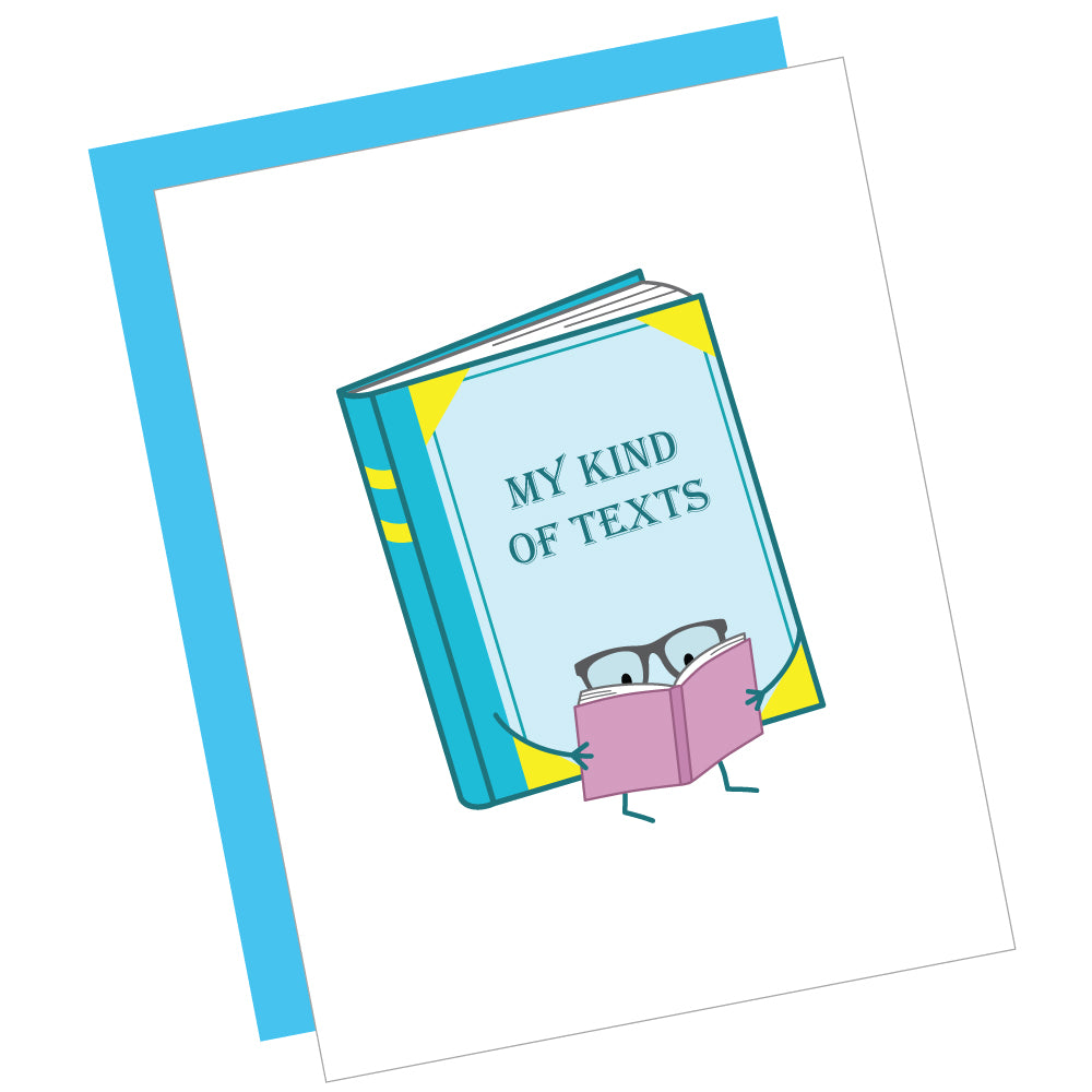 My Kind of Texts Greeting Card