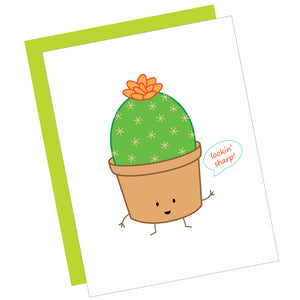 Lookin' Sharp! Greeting Card