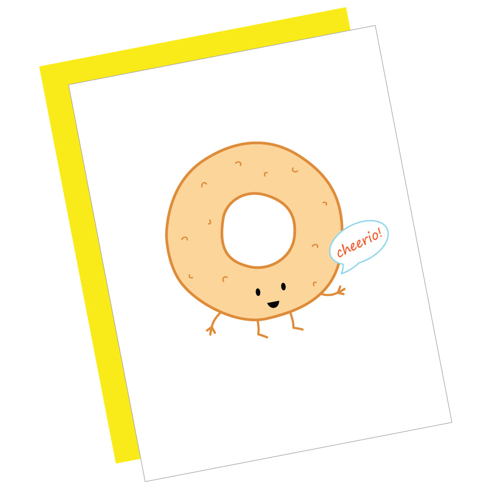 Cheerio! Greeting Card