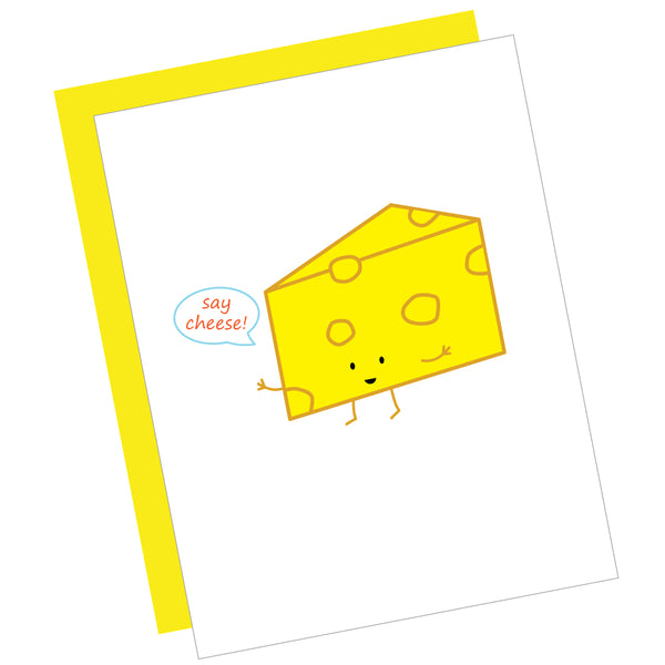 Say Cheese! Greeting Card