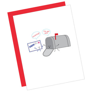 Incoming! I've Got You! Greeting Card