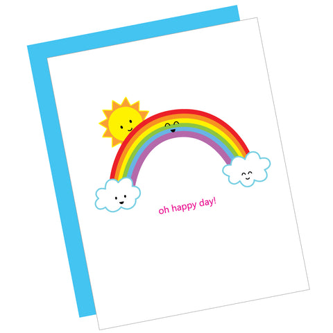 Oh Happy Day! Greeting Card