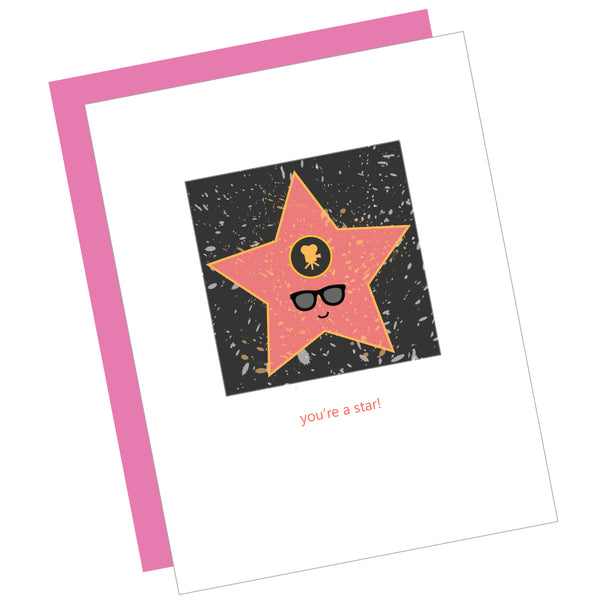 You're a Star! Greeting Card