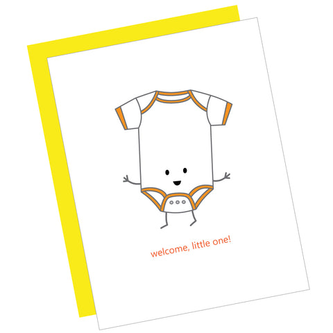 Welcome, Little One! Greeting Card