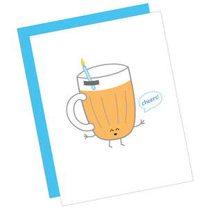 Beer Cheers! Greeting Card