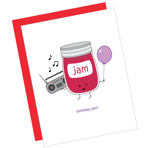 Birthday Jam! Greeting Card