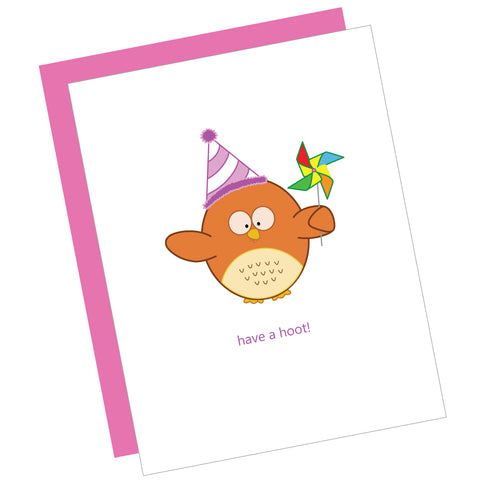 Have a Hoot! Greeting Card