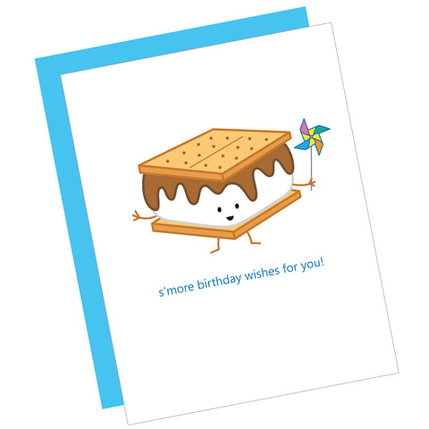 S'more Birthday Wishes for You! Greeting Card