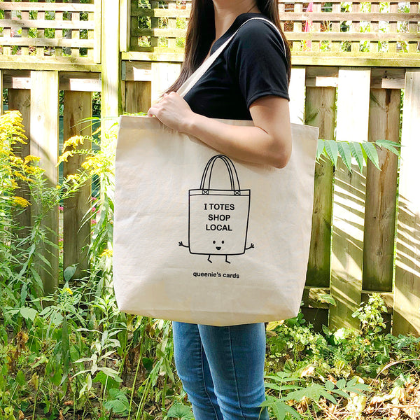 I Totes Shop Local Tote Bag