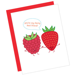 You're My Berry Best Friend! Greeting Card