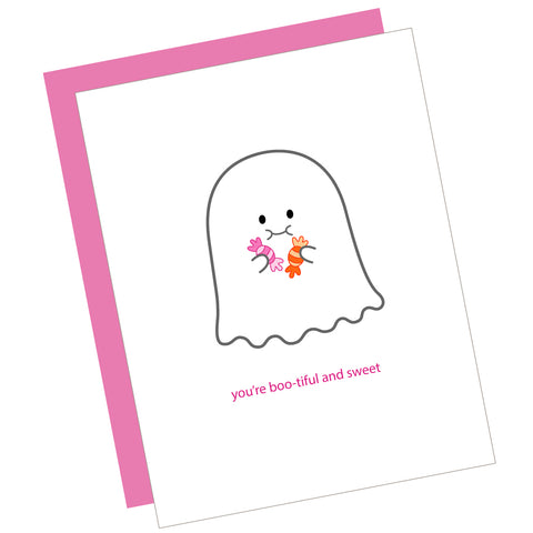 You're Boo-tiful and Sweet Greeting Card