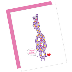 Congrats on Tying the Knot! Greeting Card