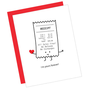I'm Yours Forever! Greeting Card